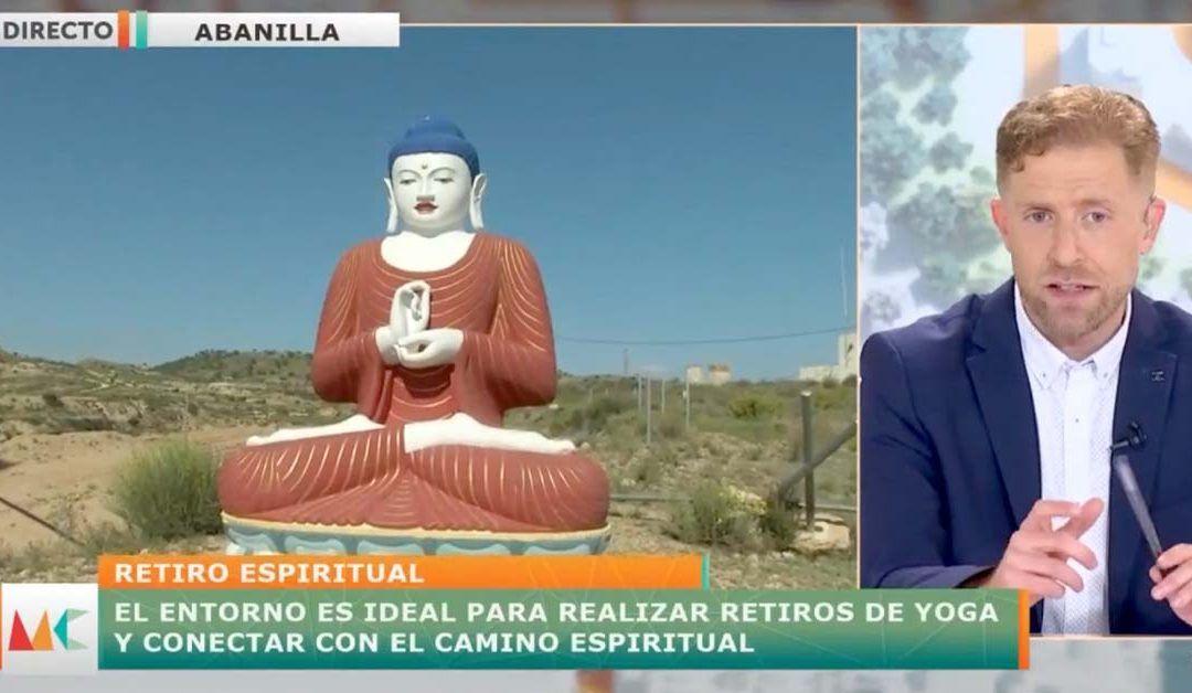 7 Televisión de Murcia visita Mahasandhi
